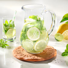 Ideal for cooling your punch bowl, cake plate, dessert tray,... Just put it in the freezer for an hour.