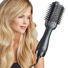 4-in-1 Hot Air Brush - This superior hair tool dries, brushes, straightens and styles in one step.