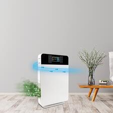 6-in-1 Air Purifier - Highly effective 6-part filter technology creates up to 99% pure air. In an elegant design and at a great price.