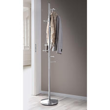 Coat Rack - 8 hooks hold coats, jackets & much more in a space-saving design. Sturdy stainless steel.