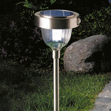 Intelligent Solar Lamp - State-of-the-art LED technology with 2 light intensities, built-in motion and dusk to dawn sensor.