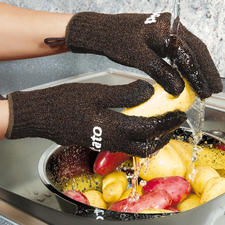 Potato gloves for adults and children - The cleverest invention since potatoes.