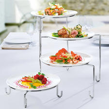 Swivel Plate Stand/Holder - Looks great on sideboards and tables. Also makes practical plate holder in the kitchen.