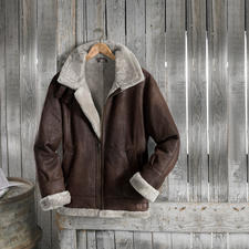 "Lambskin Flying Jacket ""B3"" - A legend: The B3, the flying jacket of the US Army Air Corps of 1934."