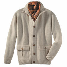 Cardigan, Royal Alpaca - Lasting beauty and an especially noble gift.
