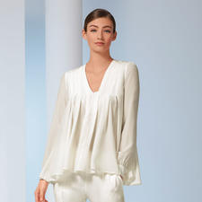 SLY010 Stretch Silk Tunic - The elegant and timeless one among tunics. Made of top quality, hardwearing stretch silk. By SLY010.