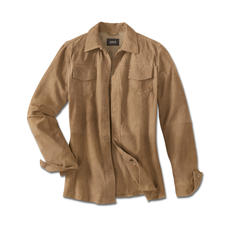 Climate Comfort Leather Jacket - The leather jacket for summer – as light and airy as a shirt. Only weighs 23.3oz. In delicate goat suede.