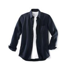 "Tencel® Denim Shirt - You'll love this ""denim"" shirt both on hot and cold days. Much softer than denim."