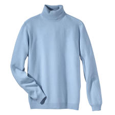 Polo Neck Pullover, Blue