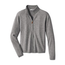 Cashmere Sweat Jacket - Simple look, superior comfort. The classic sweat jacket. In sumptuous Mongolian 2-ply cashmere.