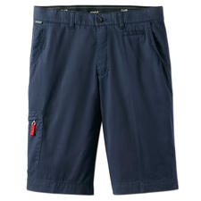 "Bermudas Sun Reflect - Noticeably cooler: Dark Bermudas with ""Sun Reflect"". No heat build-up. And won't fade."
