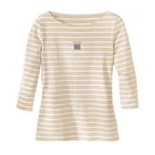 brittany_polo_neck_shirt - Sand/Beige