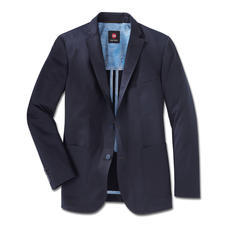 Carl Gross Pima Cotton Jacket - Classy, subtle sheen. Brilliant colour. Soft to the touch. Hardly creases.