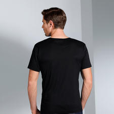 Short sleeves, Black