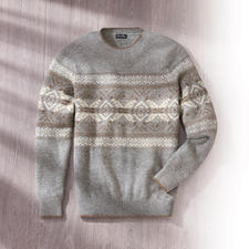 Baby Alpaca Norwegian Pullover - Downy. Lightweight. Greatindoors and under jackets. By Clark Ross, the alpaca specialist.