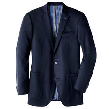 Carl Gross Travel Jacket - The perfect sports jacket for every day. Ideal for travel. Resistant to creasing & stains. Yet 100% virgin wool