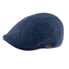 Kangol® Denim Flat Cap - Fashionable slim fit. Airy knitwear. Casual denim look. The flat cap by British hat maker Kangol®, since 1938.