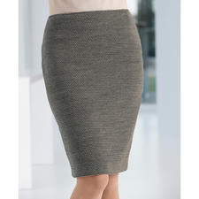 Wool jersey pencil skirt - The lucky find among winter skirts: Uncomplicated and unbeatably versatile.