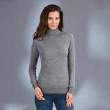 Polo Neck, Grey