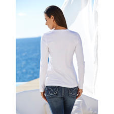 Long-Sleeve, White
