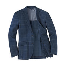 Hackett Jersey Sports Jacket - Airy jersey sports jacket in classic flannel look. By Hackett London.