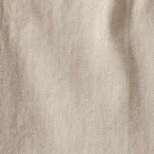 The cool, lightly flowing linen in an oatmeal colour goes with everything in your wardrobe.