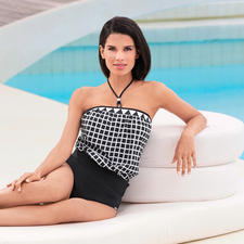 Opera® Comfort Tankini - Loosely draping tankini with removable straps. From the specialist Opera®.
