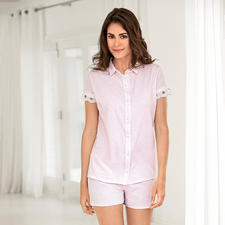 Pluto Summer Pyjamas - Much more elegant and dressy than conventional women's pyjamas. Feminine instead of unisex.