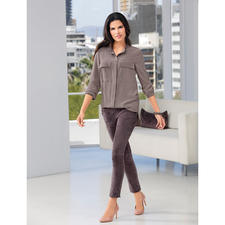 """Arma Lamb Suede Joggers - Exactly the right mix of casual and feminine: """"Joggers"""" made from luxury suede leather."""