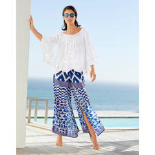 Rubyyaya Hippy Style Blouse or Ethnic Palazzo Trousers - Elegant hippy-ethnic look from international trend label Rubyyaya. And yet still affordable.