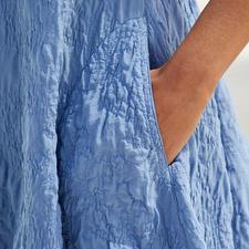 Silk Crushed Summer Dress
