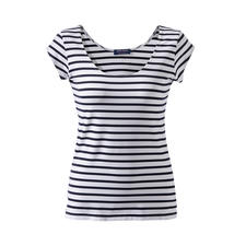 Brittany Top, Microfibre - The favourite top from Saint James for over 15 years. The Brittany top made from Meryl®.