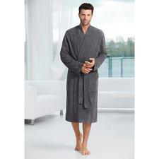 Taubert Gentleman's Bathrobe - Masculine corduroy look instead of soft towelling. The gentleman's bathrobe by leisurewear specialist Taubert.