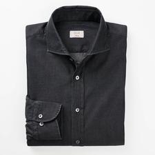 Dufour Smart Denim Shirt - Chic 4.5oz 2-ply denim. Much finer, lighter and smarter than conventional denim.