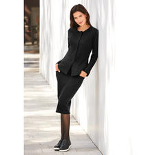 [schi]ess Jersey Suit Jacket or Skirt - Business-appropriate jersey suit or elegant leisurewear? Both! By [schi]ess.