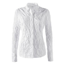 Embroidered Cambric Blouse - Never iron it – please! Classic white blouse made from fine cambric, embroidered all over.