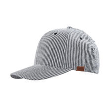 Kangol Seersucker Cap - Creped instead of smooth. Therefore, a lot airier than conventional cotton caps.