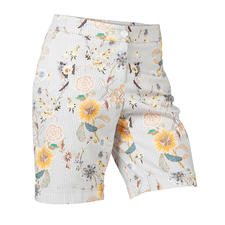 Chic Bermuda Shorts - Elegant enough to replace a skirt: Chic Bermuda shorts with fashionable printed pattern.