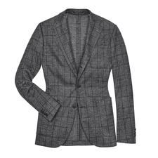Barutti Glencheck Jersey Jacket - Real business. But as comfortable as your favourite cardigan. By Barutti.