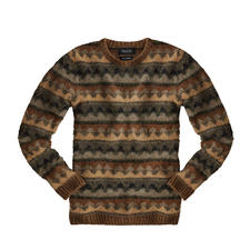Howlin' Jumper in Autumn Colours - Modern design from fashion city Antwerp, traditionally knitted in Scotland. By young Belgian brand Howlin'.