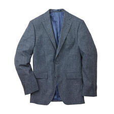 Kastell Denim Look Business Jacket - Both smart and casual thanks to the elegant Italian cloth.