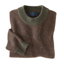 Carbery Forest Pullover - Rustic look, surprisingly light and with a soft feel.