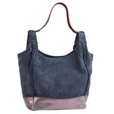 Anokhi Suede Bag - Light and casual. Practical and easy to combine. And even pleasantly affordable.