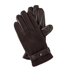 Dents Corduroy Gloves - Corduroy: Highly fashionable again. Top-quality gloves by Dents, since 1777.
