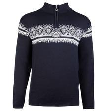Dale of Norway Men's Zip Neck Pullover - Not just any Norwegian pullover. The original zip neck pullover of the Norwegian national team.