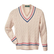 Alan Paine Women's Cricket Jumper - Alan Paine invented the legendary cricket jumper. And then reinvented it. The renaissance of a fashion classic.