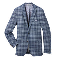 Carl Gross Bouclé Jersey Sports Jacket - The typical look of the fashion favourite bouclé. But with a new lightness and comfort. By Carl Gross.