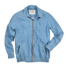 Portuguese Flannel Ultralight Denim Jacket - Even lighter and airier than most denim shirts. The clean-cut summer denim jacket by Portuguese Flannel.