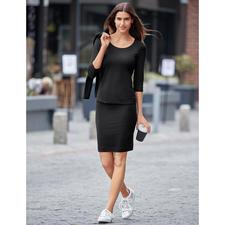 Shirt and Skirt, Black