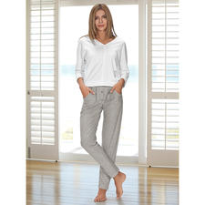 HFor Sweatshirt or Sweat Trousers - A wonderfully comfortable, trendy smart look and pleasantly affordable. The loungewear suit from HFor.